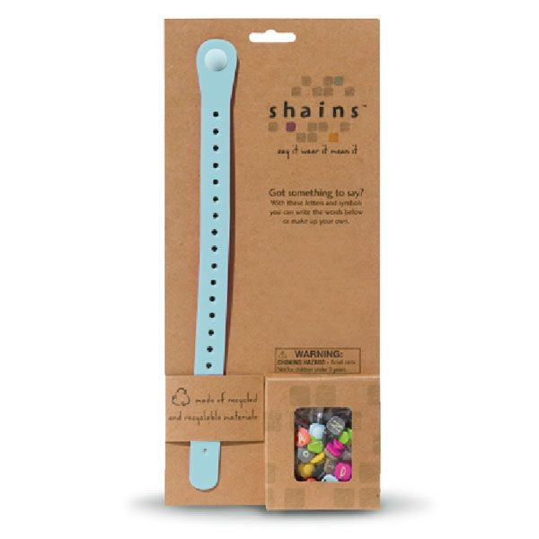 Shains Bracelet with 100 Elements Blue