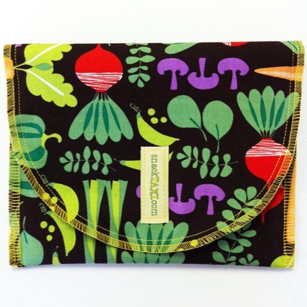 Reusable Snack Bag Green Veges