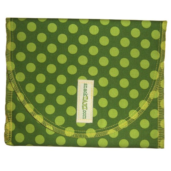 Reusable Sandwich Bag Ta Dot Green