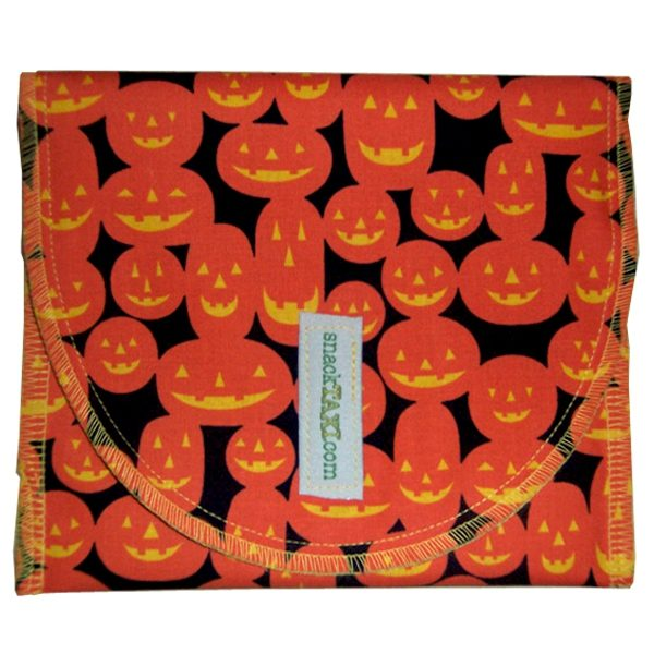 Reusable Snack Bag Pumpkin