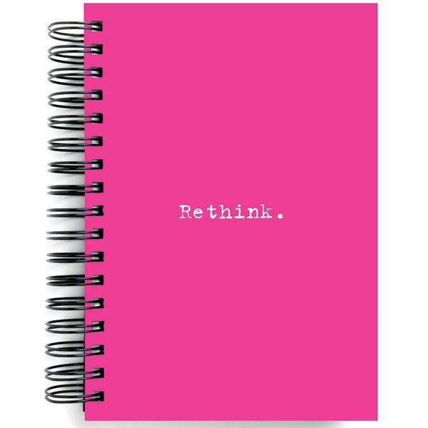 Re-think Jumbo Journal Pink