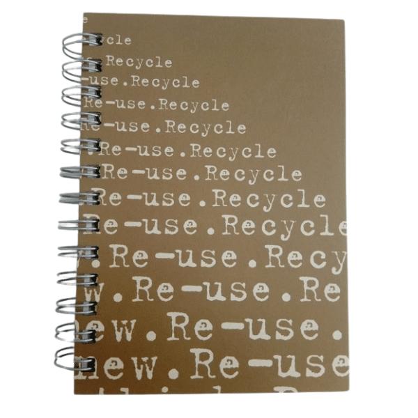 Reuse 5x7 Journal Brown