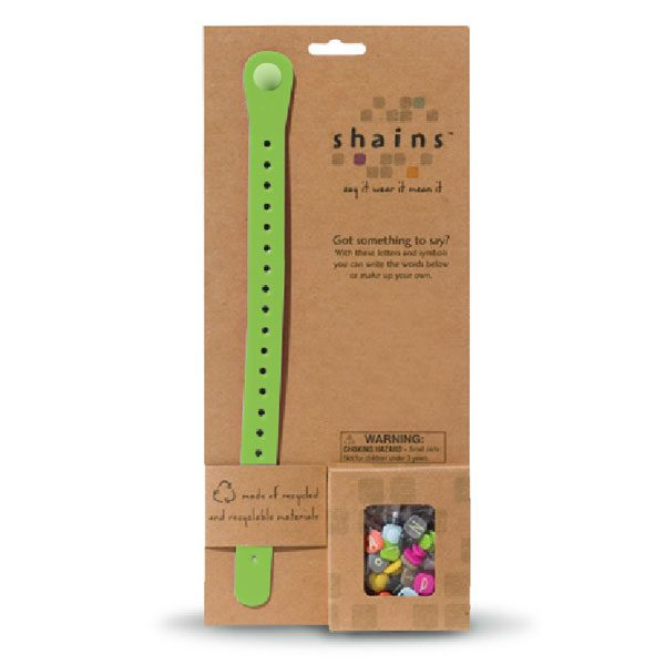 Shains Bracelet with 60 elements Green
