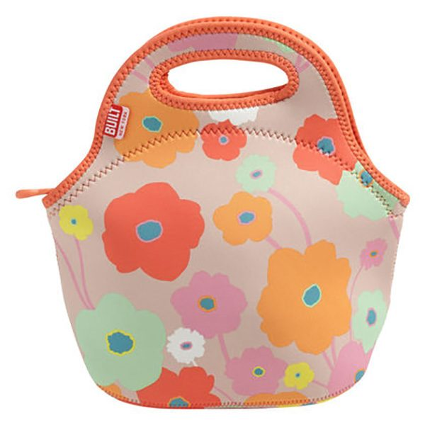 Gourmet Getaway Lunch Tote Bright Flowers