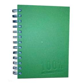 5x7 Journal Simple Green