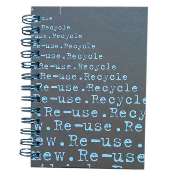 Reuse 5x7 Journal Brown