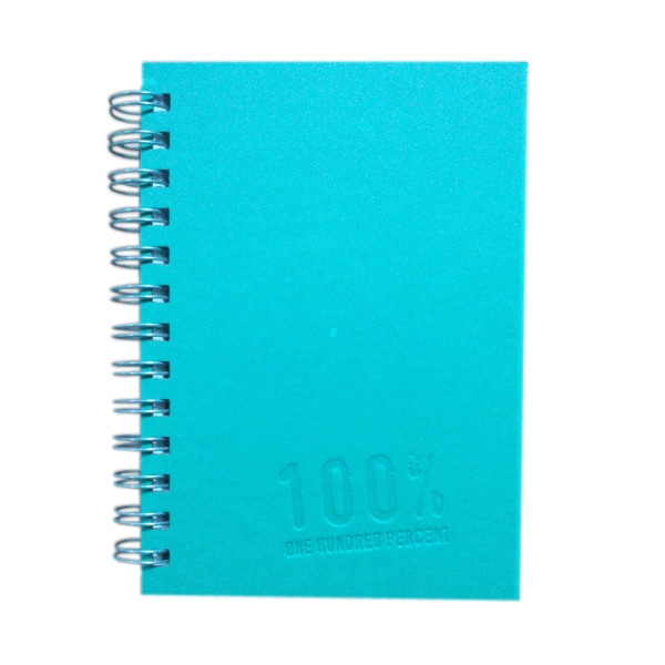 5x7 Notebook 100% Light Blue