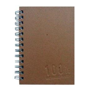 5x7 Journal Simple Brown