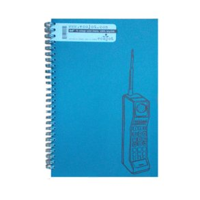 6x9 Ruled Notebook Blue