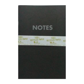 6x9 Notebook BlackBrown