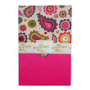 6x9 Notebook Pink Design