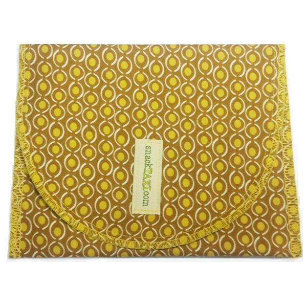 Reusable Sandwich Bag Brown Peas