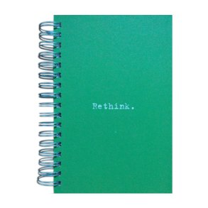 Re-think Jumbo Journal Green