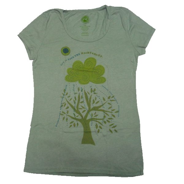 Organic Tee Rainforest (Women)