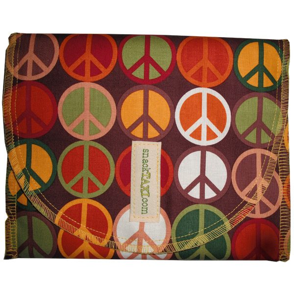 Reusable Sandwich Bag Peace Earth