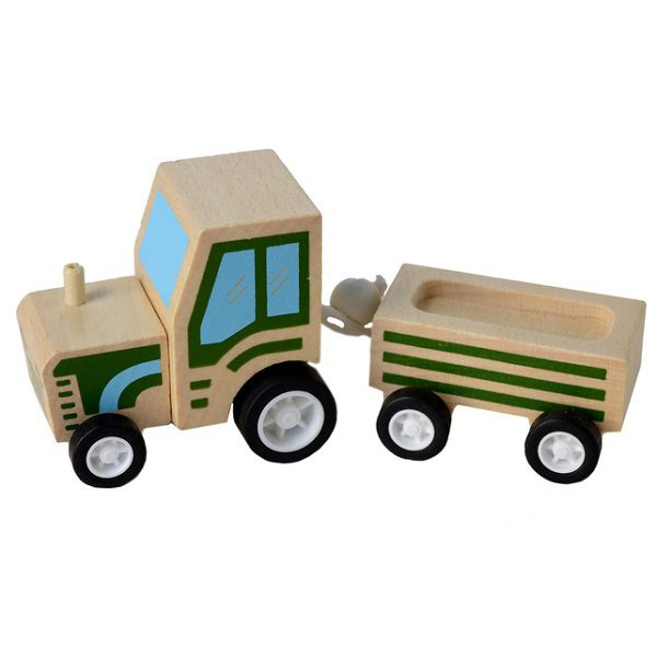 Click Clack Toys Tractor Trailer