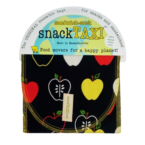 Reusable Sandwich Bag Apple