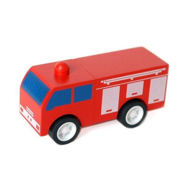 Click Clack Toys Fire Truck