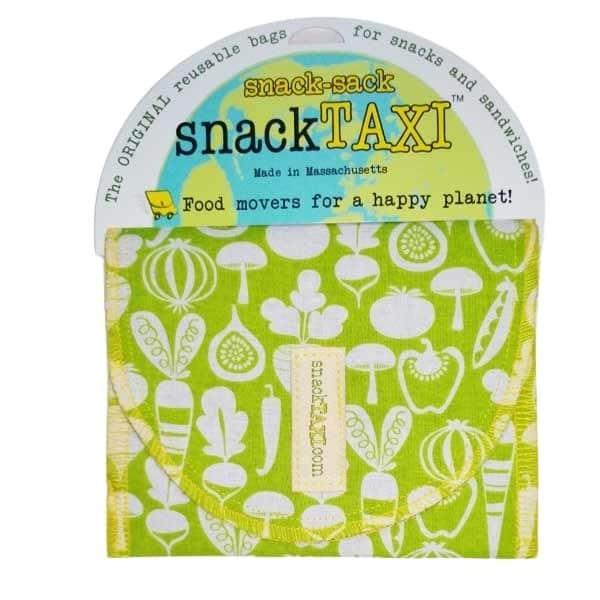 Reusable Sandwich Bag Green Veges