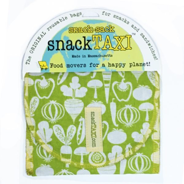 Reusable Sandwich Bag Green Veges
