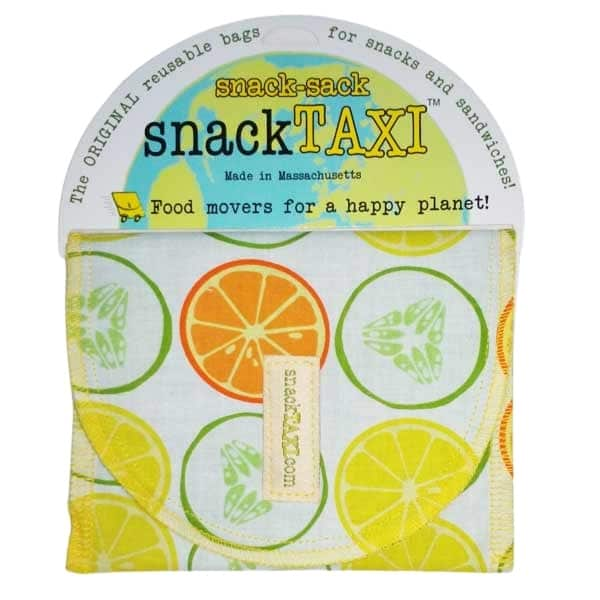 Reusable Sandwich Bag Orange & Lemon