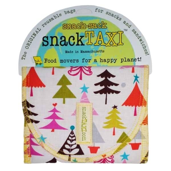Reusable Sandwich Bag Pine Tree