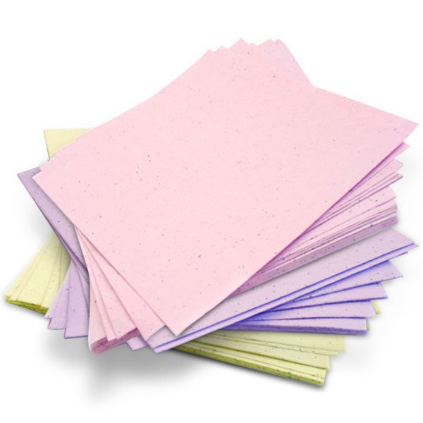 Plantable Seed Paper (set of 3)