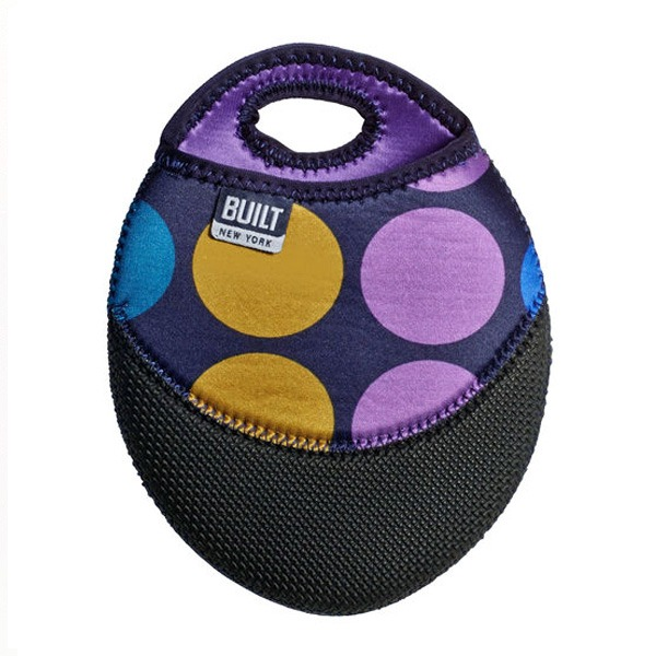 Pot Holder Plum Dot