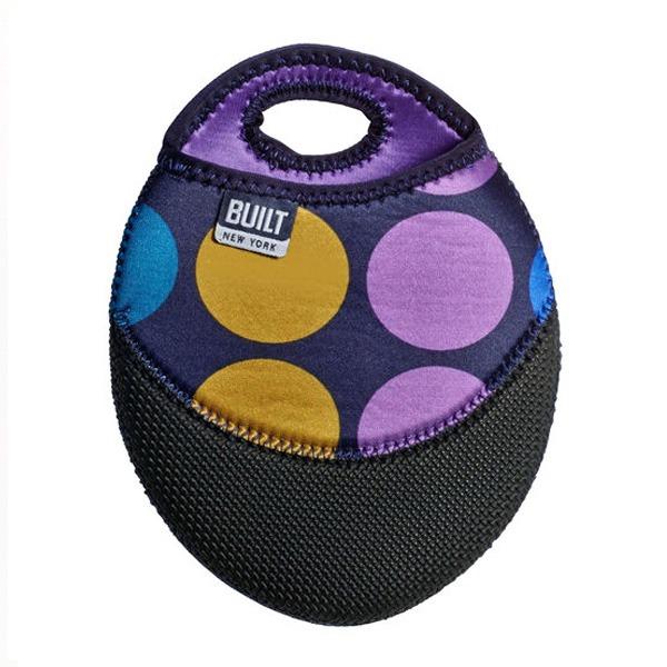 Pot Holder Plum Dot