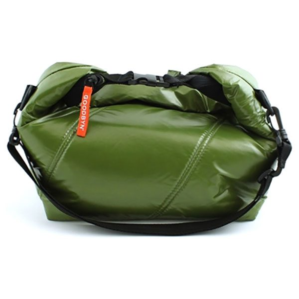 Roll Top Bag Dark Green