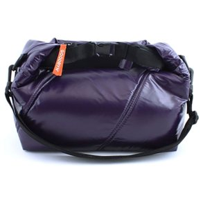 Roll Top Bag Dark Purple