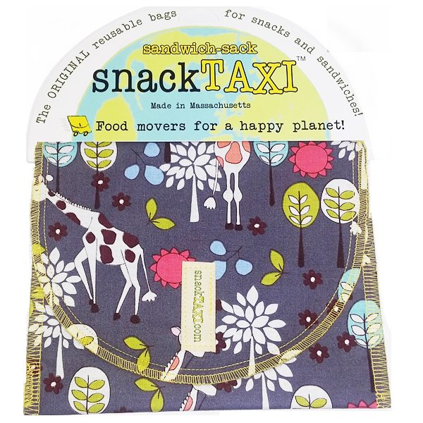 Reusable Sandwich Bag Giraffe