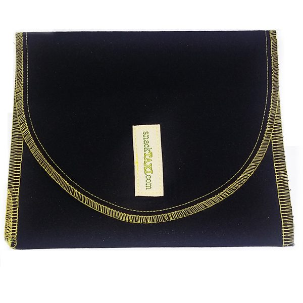 Reusable Sandwich Bag Solid Black