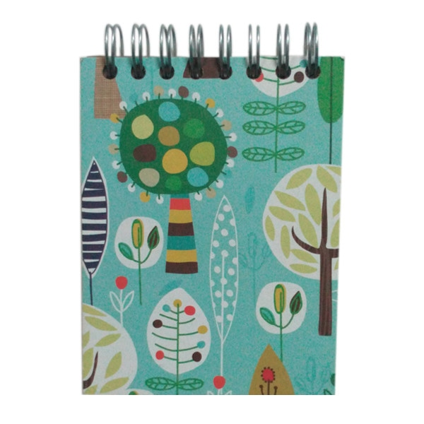 Mini Flip Notebook- Forest
