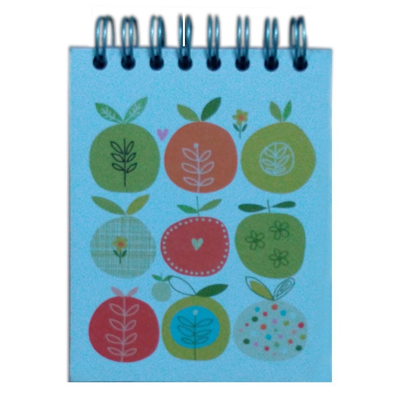 Mini Flip Notebook- Lemon