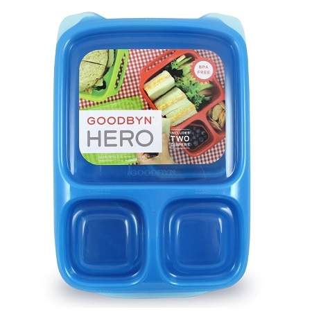 Goodbyn Hero Lunchbox Blue