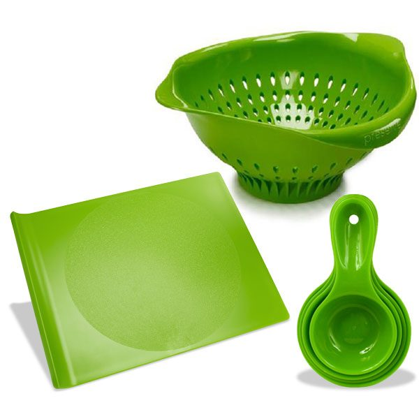 Preserve Green Kitchen Starter Set