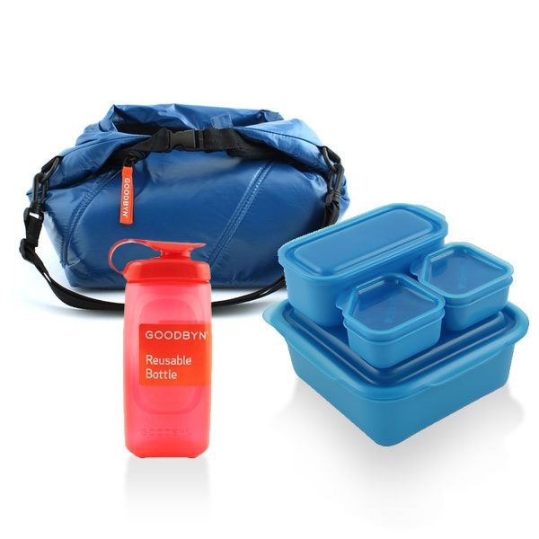 Goodbyn School Lunch Set Blue
