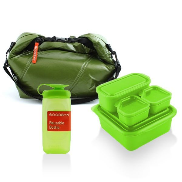 Goodbyn School Lunch Set Green