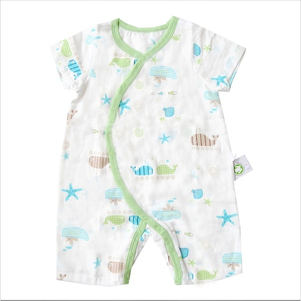 Under the Sea Organic Romper