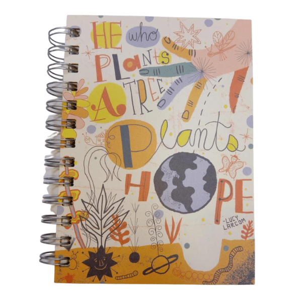 He who plants 5x7 Journal