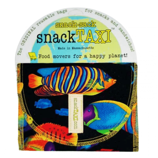 Reusable Snack Bag Fishes
