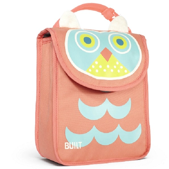 Kids Lunch Sack Owl