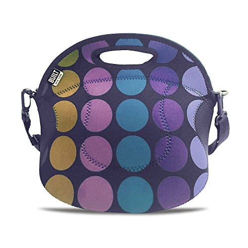 Spicy Relish Lunch Tote Plum Dot