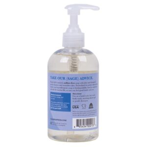ClarySage Soap Back