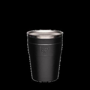 cup stainlesssteel stone black m 12oz 2