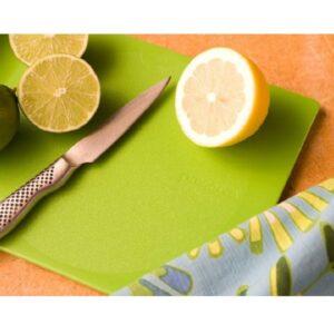 lifestyle cuttingboard green