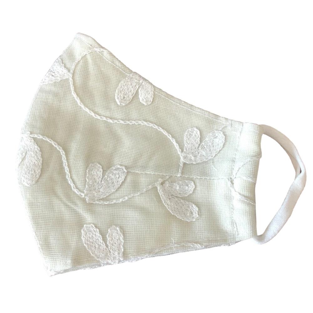 whiteflowermask