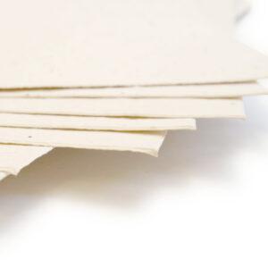 Cream Seed Paper