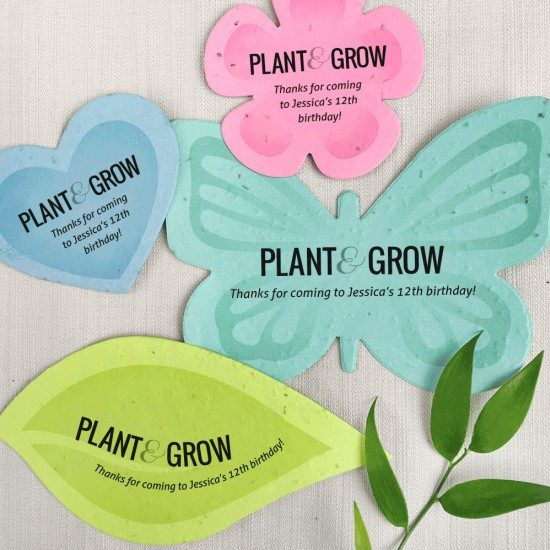 Seed Paper party favours